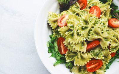 Talluto's Pesto over Pasta