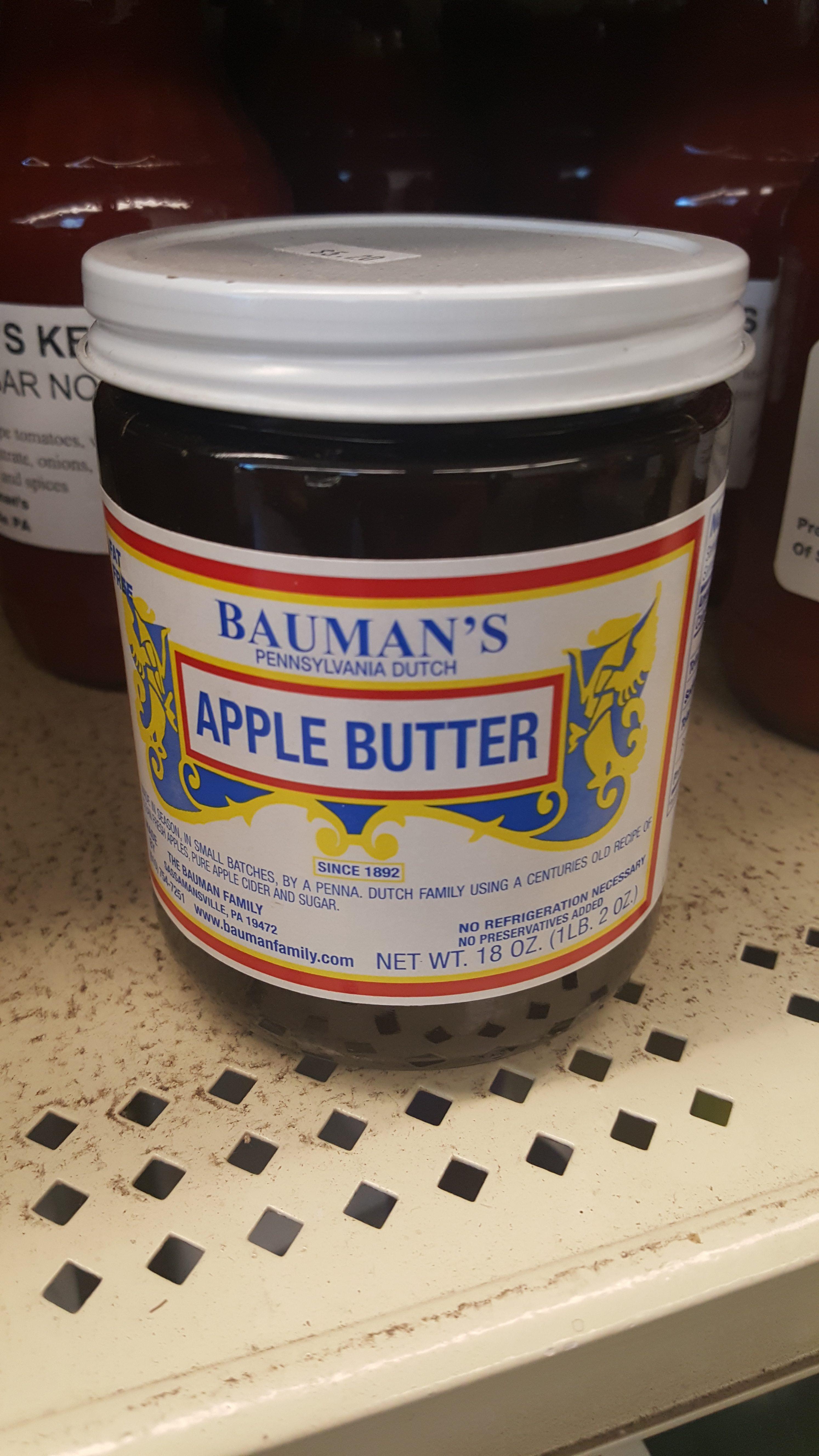 Bauman S Apple Butter Locavore At Your Door