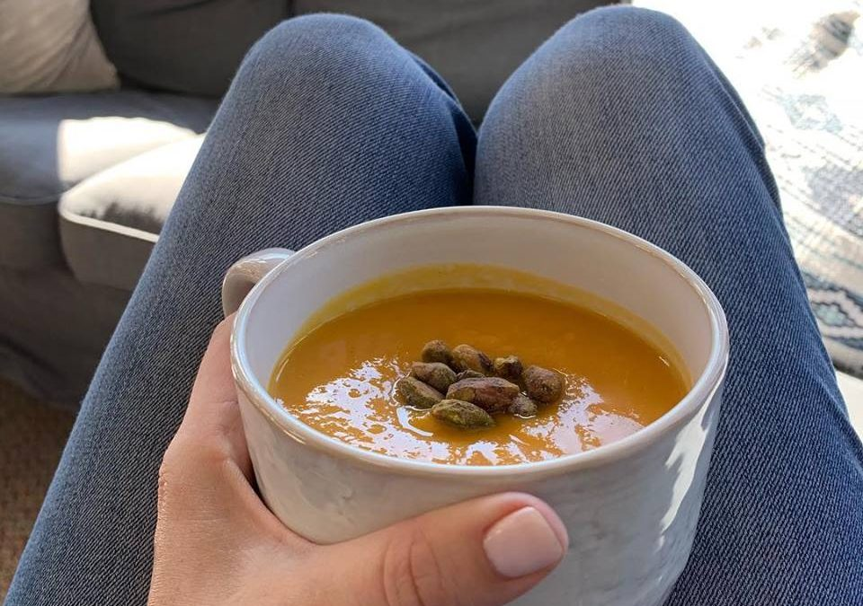 Butternut Squash Soup With Feel Like A Guest
